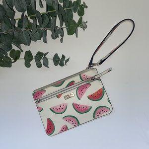 Kate spade watermelon print wristlet